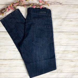 Nautical Skinny Fit Jeans Girls 14